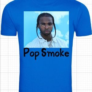 Popsmoke t shirt all sizes and colors available